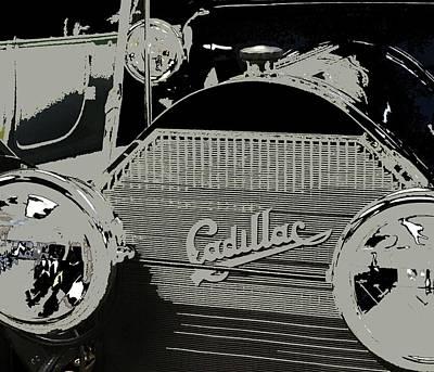 Wall Art - Mixed Media - Classic Cars 12 by Joan Stratton