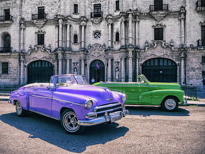 Photograph - Classic Cuba by William Shevchuk