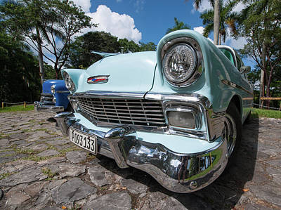 Photograph - Classic Cuban Chevy by Mark Duehmig