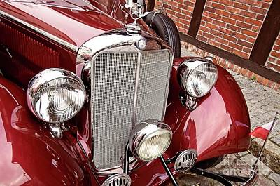 Photograph - Classic Mercedes Benz 320 by Elzbieta Fazel