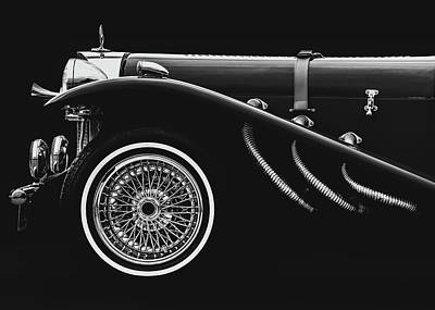 Photograph - Classic Mercedes Benz Ssk by Bob Orsillo