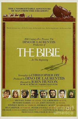 Royalty-Free and Rights-Managed Images - Classic Movie Poster - The Bible by Esoterica Art Agency