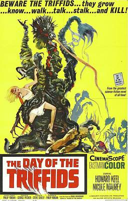 Royalty-Free and Rights-Managed Images - Classic Movie Poster - The Day of the Triffids by Esoterica Art Agency