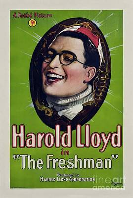 Royalty-Free and Rights-Managed Images - Classic Movie Poster - The Freshman by Esoterica Art Agency