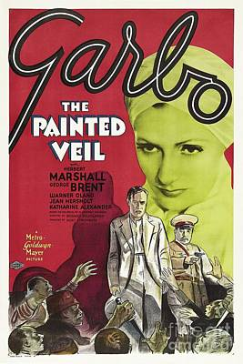 Royalty-Free and Rights-Managed Images - Classic Movie Poster - The Painted Veil by Esoterica Art Agency