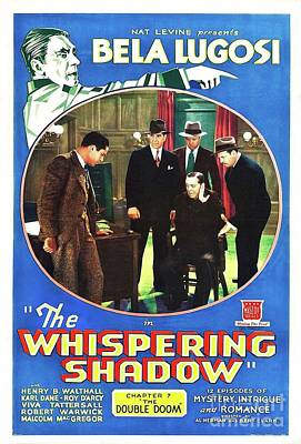 Royalty-Free and Rights-Managed Images - Classic Movie Poster - The Whispering Shaow by Esoterica Art Agency