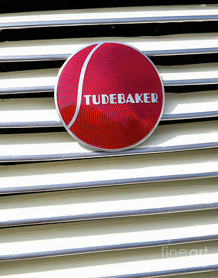 Photograph - Classic Studebaker Logo by Kevin McCarthy