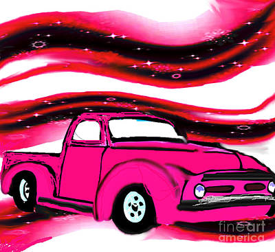 Grimm Fairy Tales - Classic Truck Ford Pickup by Belinda Threeths