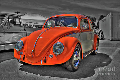 Photograph - Classic Volkswagen by Tony Baca