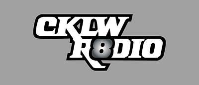 Digital Art - Classic White Mid-70s Cklw Logo by Big8Radio