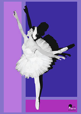 Royalty-Free and Rights-Managed Images - Classical dance Prima ballerina by Joaquin Abella