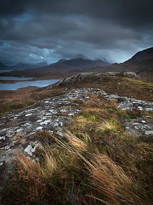 Torridon Wall Art - Photograph - Claustrophobic Clouds by Adrian Metzelaar