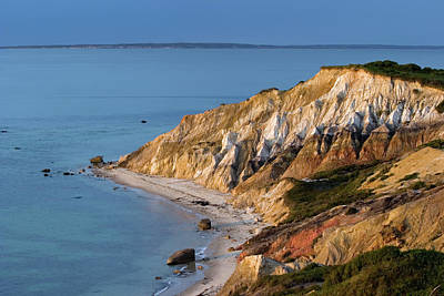 Photograph - Clay Cliffs Of Aquinnah by Dianalundin