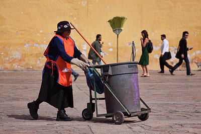 Photograph - Cleaning Leady by Tatiana Travelways