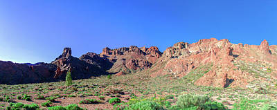 Photograph - Clear Blue Sky Above The Teide National Park by Sun Travels