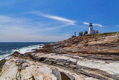Photograph - Clear Spring Day On The Coast by ProPeak Photography