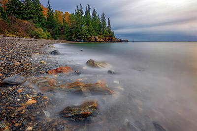 Photograph - Clearing Storm At Owl's Head by Rick Berk