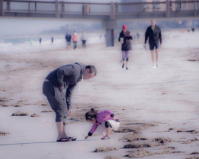 Photograph - Clearwater Beachcombing by Jeff Phillippi
