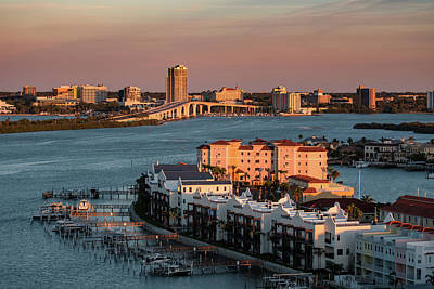 Photograph - Clearwater Evening by Jeff Phillippi