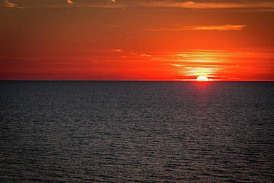 Photograph - Clearwater Sunset by Jeff Phillippi