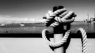 Photograph - Cleat Knot by Rachel Hannah