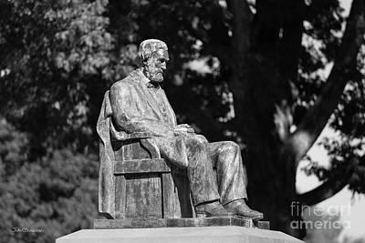 Photograph - Clemson University - Clemson Statue by University Icons