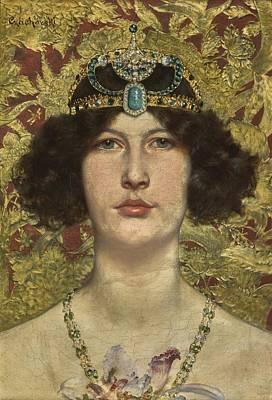 Painting - Cleopatra by Wladyslaw Czachorski