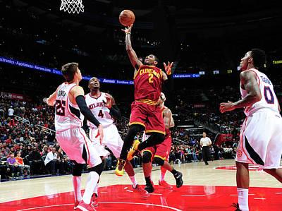 Photograph - Cleveland Cavaliers V Atlanta Hawks by Scott Cunningham
