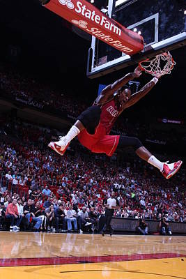Photograph - Cleveland Cavaliers Vs Miami Heat by Issac Baldizon