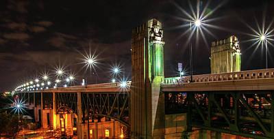 Photograph - Cleveland Lights  by Richard Kopchock