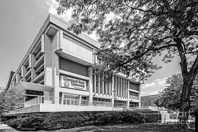Photograph - Cleveland State University Center by University Icons