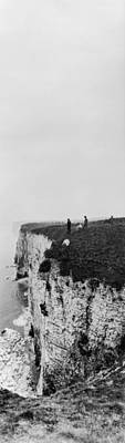 Photograph - Cliff Climbers by Alfred Hind Robinson