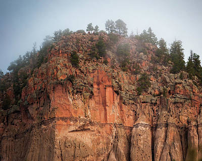 Photograph - Cliff Face Hz by Jeff Phillippi