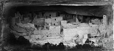 Photograph - Cliff Palace In Black And White by Jon Burch Photography