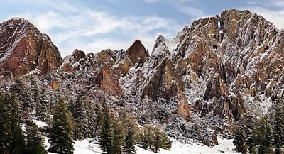Photograph - Cliff Texture by Leland D Howard