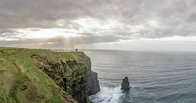 Photograph - Cliffs Of Moher In Ireland  by John McGraw