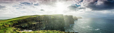 Photograph - Cliffs Of Moher, Ireland, Xxxl Panorama by Mbbirdy