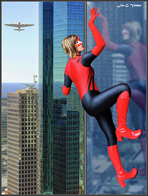 Photograph - Climb Of The Spider Woman by Jon Volden