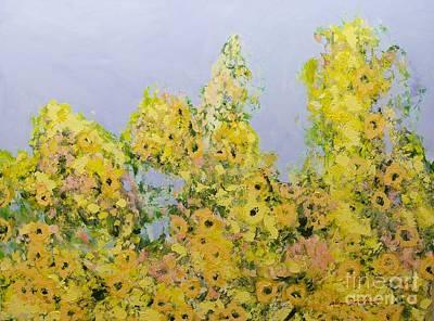 Painting - Clinging Vines by Allan P Friedlander