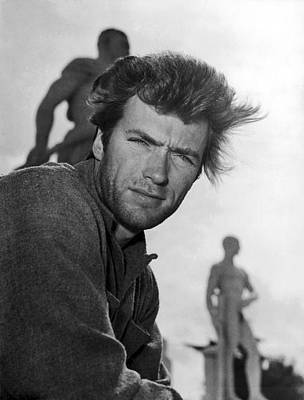Photograph - Clint Eastwood In Rome In 1964 by Keystone-france
