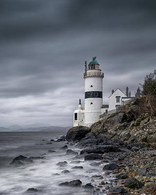Photograph - Cloch Lighthouse by Victoria Redpath