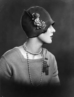 Photograph - Cloche Hat by Sasha