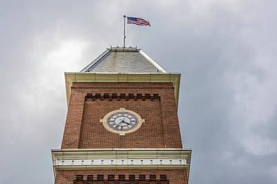 Photograph - Clock Tower University Hall The Ohio State University by John McGraw