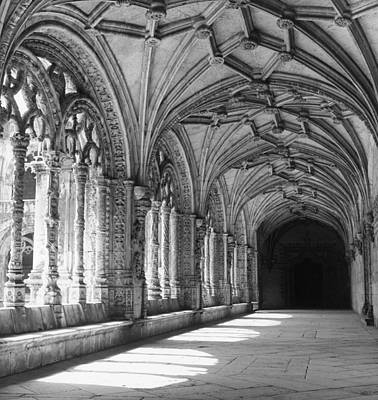 Photograph - Cloisters by L. V. Clark