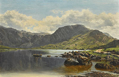 Painting - Cloon Lake, Glencar, Co. Kerry by Bartholomew Colles Watkins