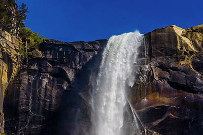 Photograph - Close Up Bridalveil Falls by Garry Gay