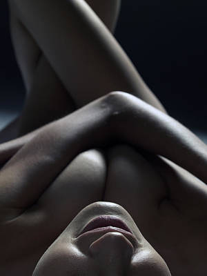 Photograph - Close Up Of A Beautiful Nude Woman by Win-initiative/neleman