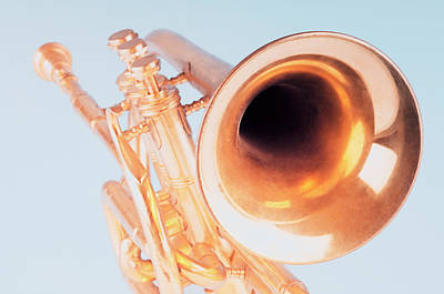 Close-up Of A Trumpet Art Print by Photosindia