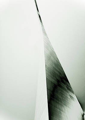 St. Louis Arch Wall Art - Photograph - Close-up Of The Gateway Arch, St by Andrea Wells