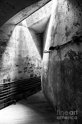 Eastern State Prison Wall Art - Photograph - Closing In At Eastern State Penitentiary by John Rizzuto